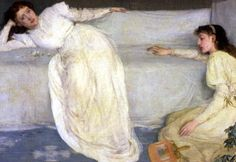 Whistler James Symphony in White No 3 1866