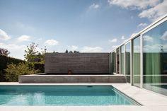 kazu721010: Poolhouse MRT / Steven Vandenborre Architects
