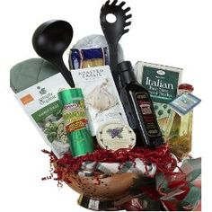 1000 images about gift baskets on pinterest kitchen for Italian kitchen gifts