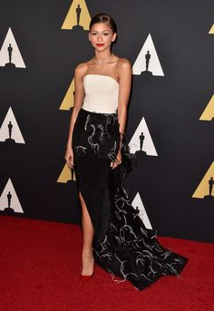 Zendaya in Christian Ciriano - AMPAS 2014 Governors Awards