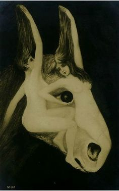 Postales metamórficas  A horse heat