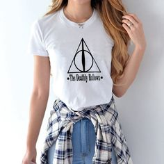 Harry Potter The Deathly Hallows T-Shirt - free shipping worldwide