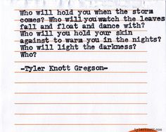 Typewriter Series #534 by Tyler Knott Gregson