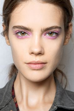 pastel pink eye make up, perfect make up for spring