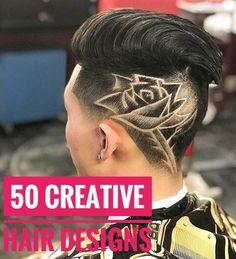 50 Creative Hair Designs for Men 50 Creative Hair +#Creative #Designs #Hair #Men