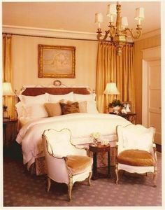 French Style, French Country, End Of Bed Seating, Table And Chairs, Tables, Bedroom Ideas, Bedroom Decor, Purple Bedrooms, Irvine California