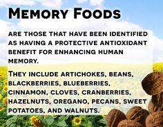 Memory Foods #healthfacts #rawvegan #vegan #hippocrateshealthinstitute #celebrateraw #livingfoods #plantbaseddiet #healthyliving