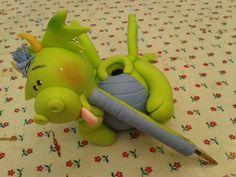 Dragon-pluma de pasta