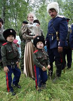 A Cossack family