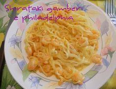 Shirataki gamberetti e Philadelphia