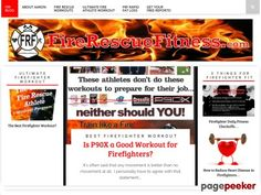 Nice Ultimate Fire Rescue Athlete Workout | Fire Chief Health Fitness