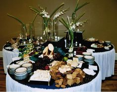 Weddings Receptions Foods Tables Display | Event Gallery › Michaels' Catering ‹ Event Catering / Box Lunches