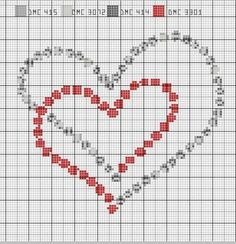 You are in the right place about Crochet Pattern stitches ideas Here we offer you the most beautiful pictures about. Cross Stitch Heart, Simple Cross Stitch, Cross Stitch Borders, Cross Stitch Designs, Cross Stitching, Cross Stitch Embroidery, Cross Stitch Patterns, Crochet Stitches Patterns, Beading Patterns