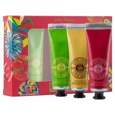 Beautiful Hands Trio - L'Occitane   Sephorahttp://www.sephora.com/beautiful-hands-trio-P390259?icid2=loccitane_holidaycollection_carousel_P390259_image