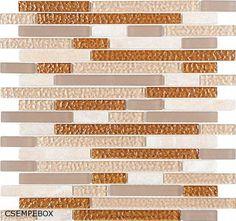 DUNIN Aurora Topaz twig 30x30 cm üveg-kő mozaik - CSEMPEBOX.COM-CsempeBOX FŰRDŐSZOBA-CSEMPE-PADLÓLAP ÁRUHÁZ ! - webáruház, webshop