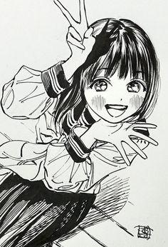 Tweets con contenido multimedia de 博:11/19明日ちゃんのセーラー服4巻 (@siiteiebahiro) | Twitter Anime Drawings Sketches, Anime Sketch, Art Manga, Anime Art Girl, Angel Manga, Art Terms, Manga Cute, Pretty Drawings, Writing Art