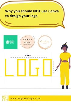 The logos at the top of this image are the most overused Canva logos that Ive seen. ⠀ 🎯Your logo is supposed to be the UNIQUE identifier for your business. If thousands of people are using its no longer unique but generic. And, youre business isnt generic right?! ⠀ HERES ARE SOME REASONS YOU SHOULDNT USED CANVA TO DESIGN YOUR LOGO.   CLICK THRU FOR THE FULL POST AND FOLLOW!  #logodesign #logodesigninspiration #logodesignideas #logodesignmodern #logodesignclean #logodesignminimalist