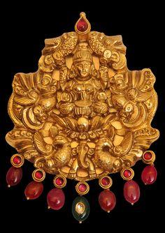 Lakshmi Nakshi Pendant Temple