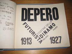 Depero Futurista by Iliazd, via Flickr