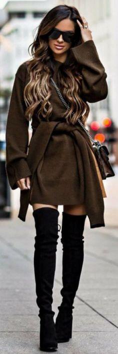 Chic fall fashion...