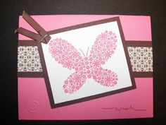 Beautiful Butterfly by mskinner - Cards and Paper Crafts at Splitcoaststampers