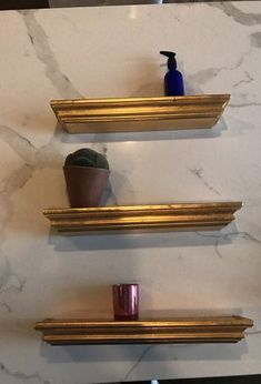 Gold Floating Shelves Cool Décor Therapy Gold Console Table With Glass Shelves Champagne Review