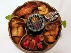 Pu Pu Platter.  God I love those things!