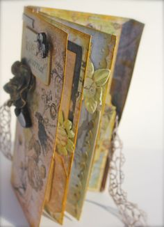 With A Grin: Prima's Natures Garden Mini Album KIT. Steph Miller.