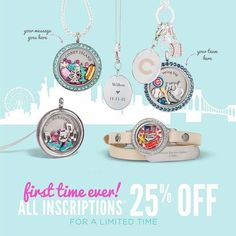 Origami Owl New Locket Looks + Inscriptions • San Diego Origami ... | 236x236