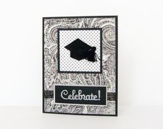 Handmade Graduation Card  Celebrate by k8cards on Etsy, $4.00