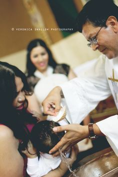 Baptism | Veronica Swallow Photography
