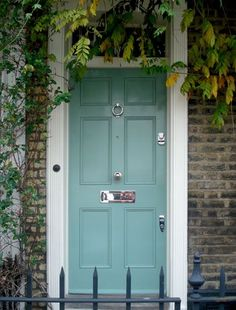 Classic Regency style front door by the London Door Company londondoor.co.uk