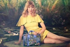 Lea Seydoux Charms in #LVxKoons Campaign