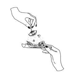 [orginial_title] – Tattoos Pencil drawing – The smell of flowers in the morning. …-… Pencil drawing – The smell of flowers in the morning. …- Bleistiftzeichnung – Der Geruch von Blumen am Morgen. 💚 Pencil drawing – The smell of flowers in the Trippy Drawings, Cool Art Drawings, Pencil Art Drawings, Art Drawings Sketches, Tattoo Drawings Tumblr, Drawing Drawing, Cute Tattoos, Body Art Tattoos, Stoner Art