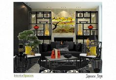 Check out this moodboard created on @Cheryl Brogan: Japenese Style by interiorspaces