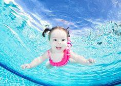 ¡Adorables! Fotos de bebés bajo el agua | Blog de BabyCenter