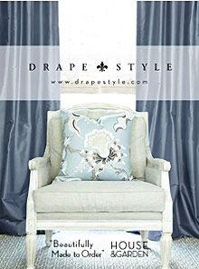DrapeStyle on Catalogs.com  #catalogs #drapestyle #catalogs.com    www.DrapeStyle.com