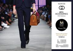 GUCCI SS16 MEN ACCESSORIES available for an order at Myriam Volterra Luxury Buying Office! Contact us by phone, email, Skype or visit our office in Milan and we provide you with all the necessary information! http://www.luxuryitalianbrands.com