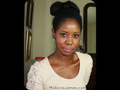 """""""Natural Hairstyles"""" - My 10  Winter Protective Hairstyles - Alicia James"""