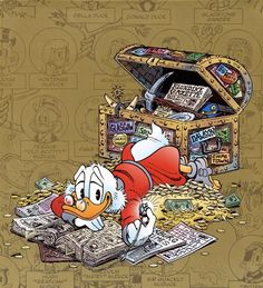 Leituras de BD/ Reading Comics: Ilustração: The Life and Times of Scrooge McDuck p...