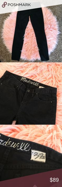 Madewell black 37s jeans 26x32 ⚡️NO trades  ⚡️open to ALL offers!  ⚡️ bundle for MAJOR discounts!  ⚡️feel free to ask any questions ⚡️ I will not respond to offers in the comments, please use the offer button for all offers.  ⚡️Please only ask for model photos if you are very interested!  ⚡️All sales are final and all offers are binding.  ⚡️ If I miss your comment, please comment again! Madewell Jeans Straight Leg