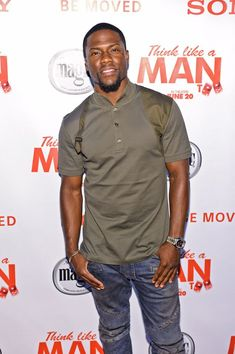 Kevin-Hart-wears-Alexander-McQueen-Harness-Polo-Shirt-Balmain-Biker-Jeans-and-Balenciaga-Arena-Sneakers-Shoes-Think-Like-A-Man-Too-Chicago-Premiere-1