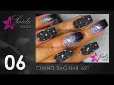 Booster Gel 2 - Snake Skin Nailart (Nailart leicht gemalt   Saida Nails) - YouTube