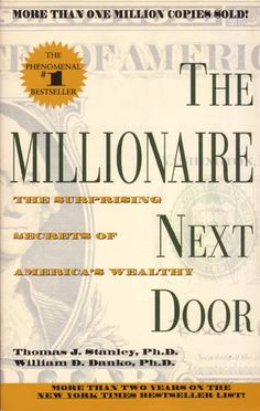 The Millionaire Next Door. KT Says: Want to re-read this book. I recall it being pretty good. Small savings add up. Don't keep up with the Jones'. Etc.
