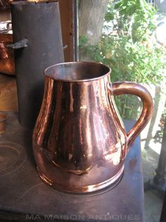 Antique copper measure from France