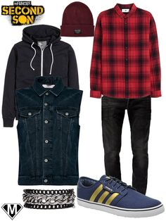get the look infamous second son delsin rowe outfit