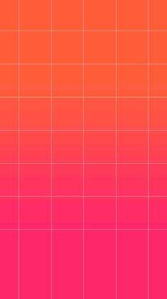 iPhone 6 homescreen pink gradient wallpaper