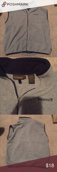 Timberland fleece vest This is a men's timberland fleece vest! It's in excellent condition! Size is XL Timberland Jackets & Coats Vests