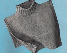 Sweater Knitting Patterns, Knit Patterns, Knitting Scarves, Vintage Knitting, Free Knitting, Knit Cowl, Knitting Accessories, Knit Or Crochet, Free Pattern