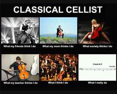 classical music humor, the cellist ;)